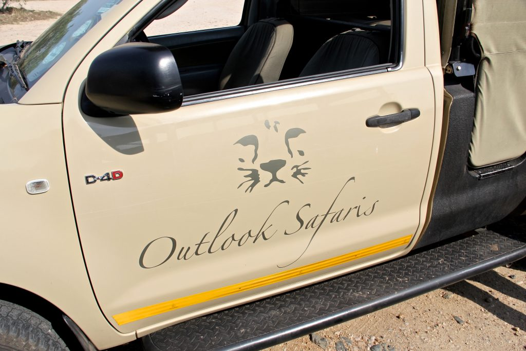 Our Outlook Safaris jeep